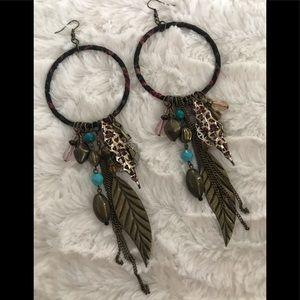 Aldo boho earrings